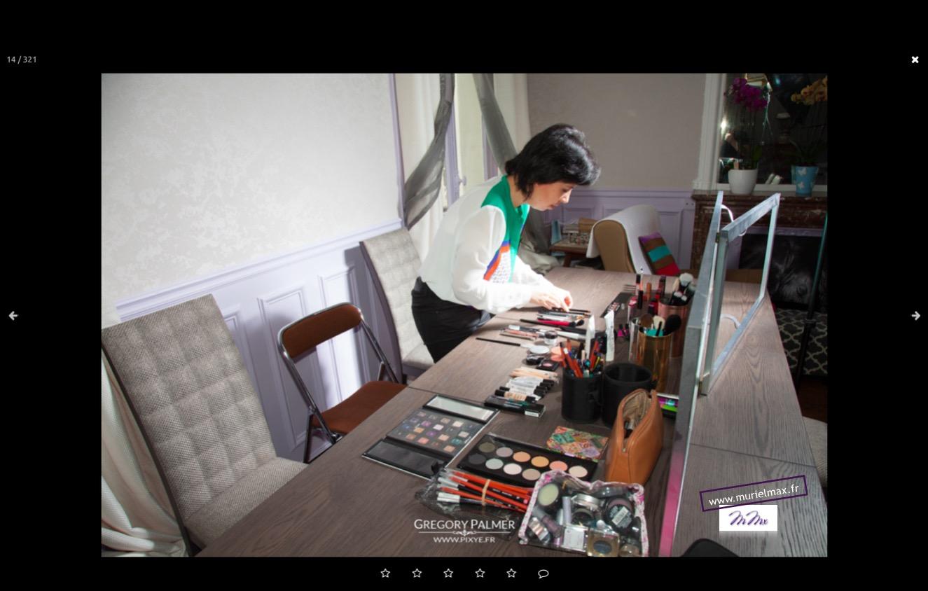 Backstage Atelier Automaquillage par Muriel MAX